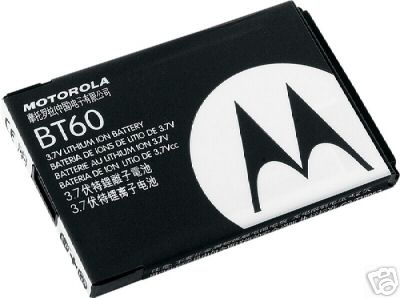 Original Motorola Battery BT-60