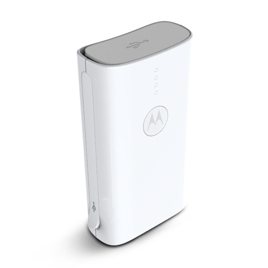 Original Motorola Power Bank Charger 3000mAh White Bulk