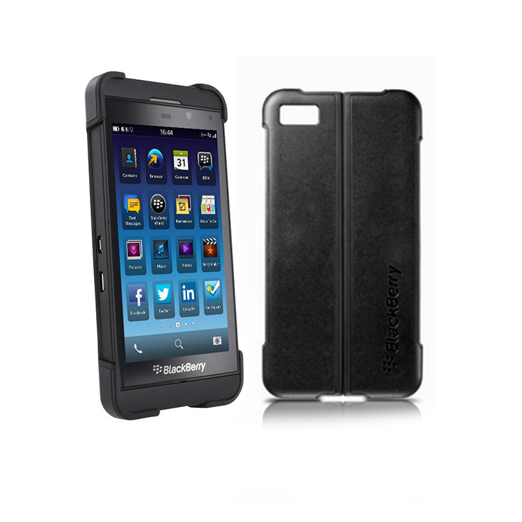 Original Blackberry Transform Shell for Z10 Black Retail
