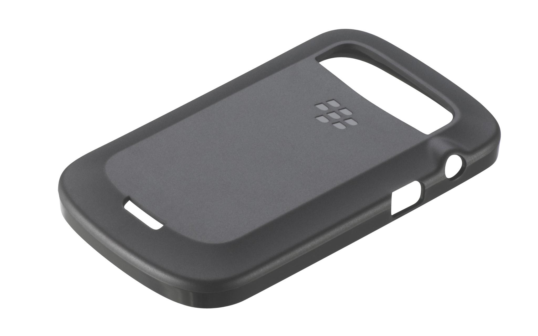 Original Blackberry Soft Shell 9900 Black
