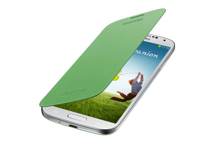 Original Samsung Flip Cover Galaxy S4 Green Retail