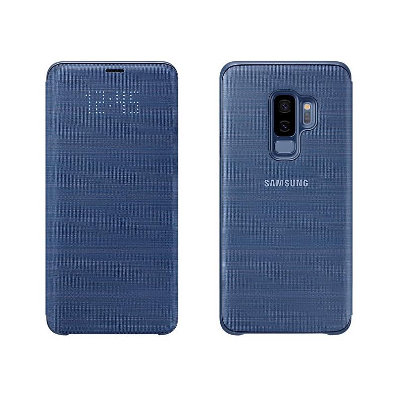 Original Samsung LED View Cover Galaxy S9 Plus Blue Retail