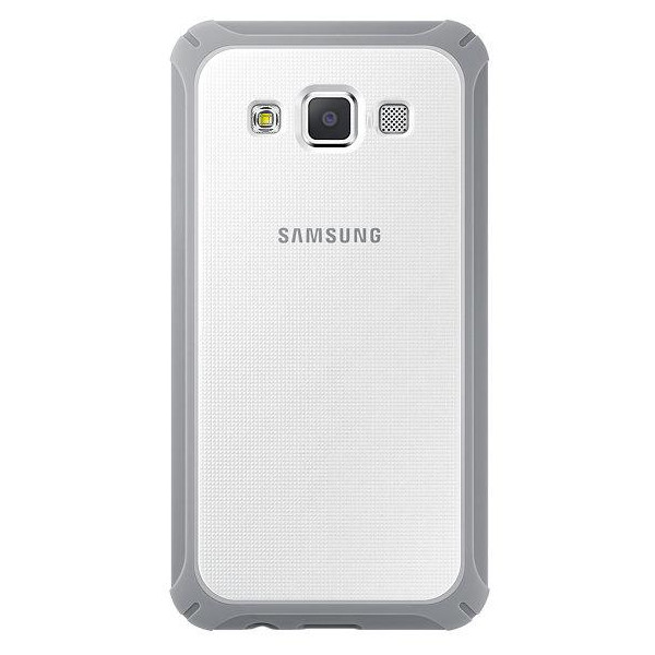 Original Samsung Protective Cover Galaxy A3 Silver White Retail