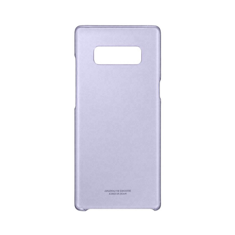 Original Samsung Clear Cover Galaxy Note 8 Orchid Gray Retail