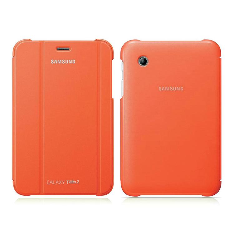 "Original Samsung Book Cover Case for Tab 2 7.0"" Orange"