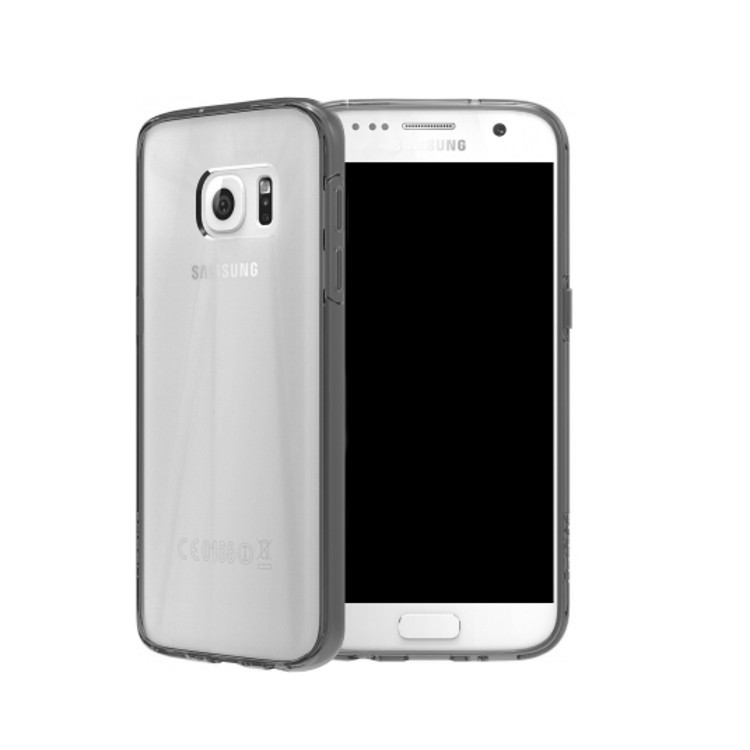 Original SKECH Case Galaxy S7 Edge Crystal Smoke Retail