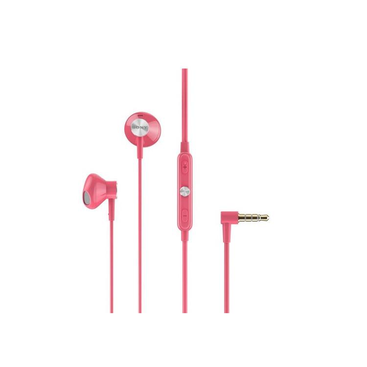 Original Sony Headset STH-30 Stereo 3.5mm Waterproof Pink Retail