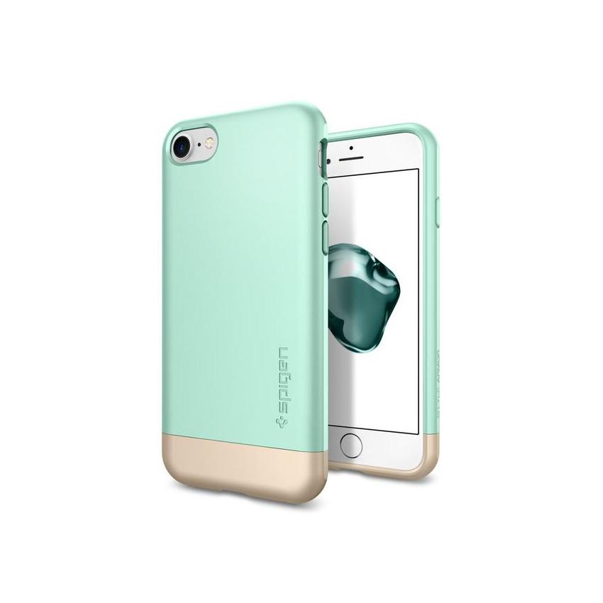 original-spigen-case-iphone-7-style-armor-mint-retail