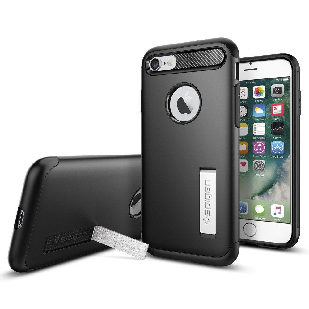 Original Spigen Case iPHONE 7 Slim Armor Black Retail