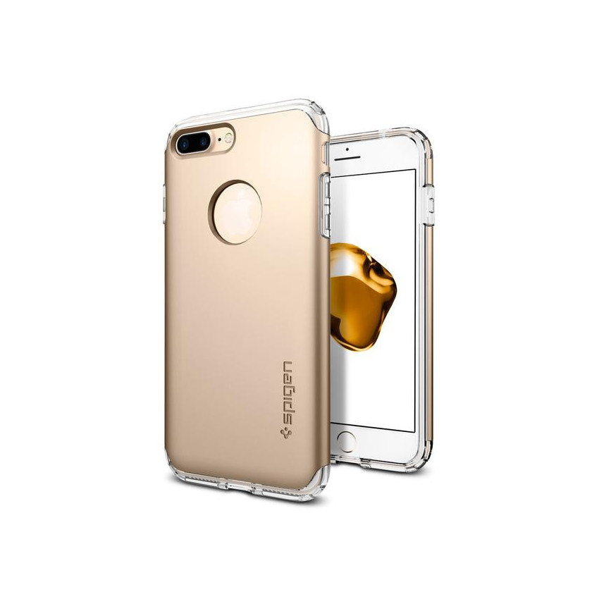 Original Spigen Case iPhone 7 Hybrid Armor Champagne Gold Retail