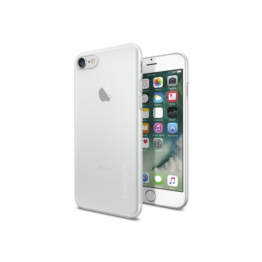 Original Spigen Case iPhone 7 Plus Air Skin Soft Clear Retail