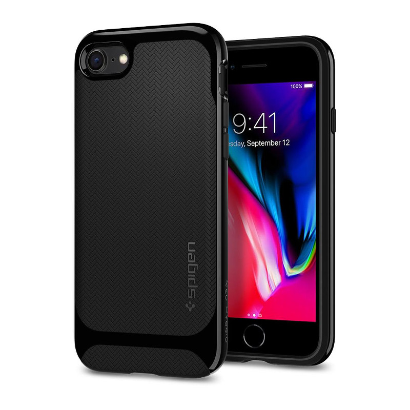 original-spigen-case-iphone-8-iphone-7-neo-hybrid-herringnone-shiny-black-retail