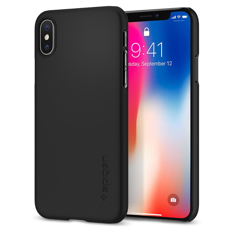 original-spigen-case-apple-iphone-x-thin-fit-matte-black-retail