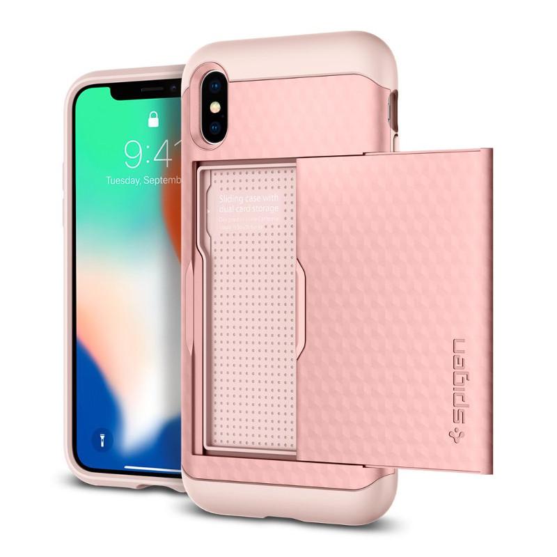 original-spigen-case-apple-iphone-x-crystal-wallet-rose-gold-retail