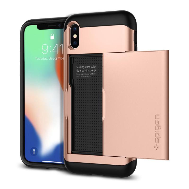 original-spigen-case-apple-iphone-x-slim-armor-cs-rose-gold-retail