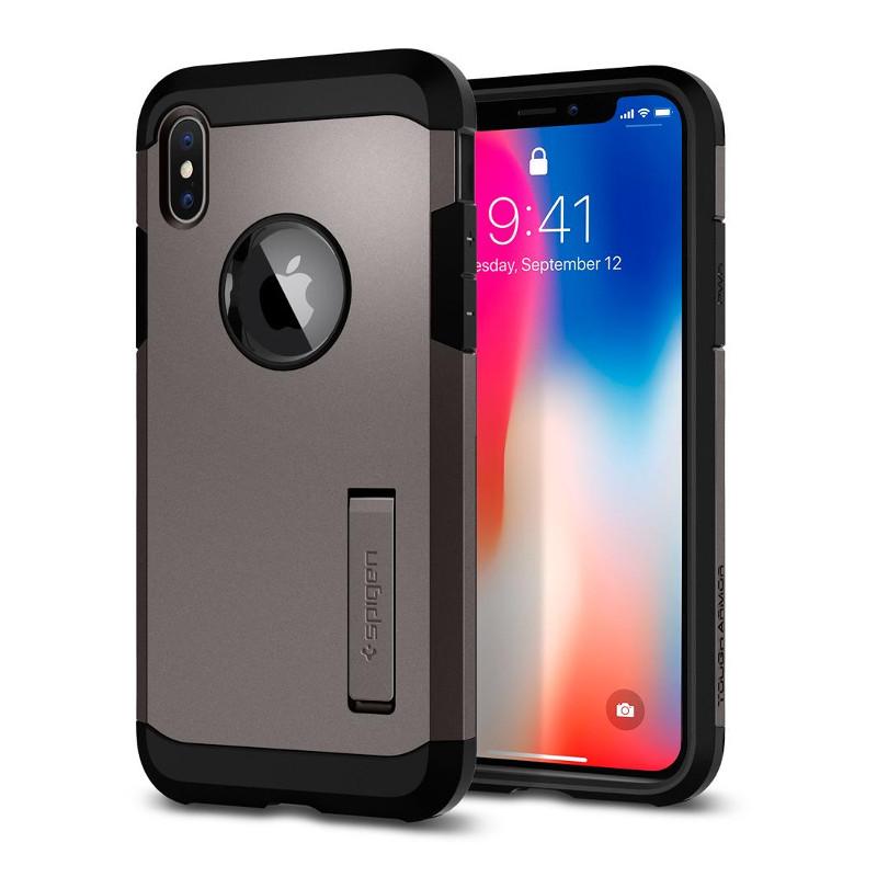 original-spigen-case-apple-iphone-x-tough-armor-gunmetal-retail