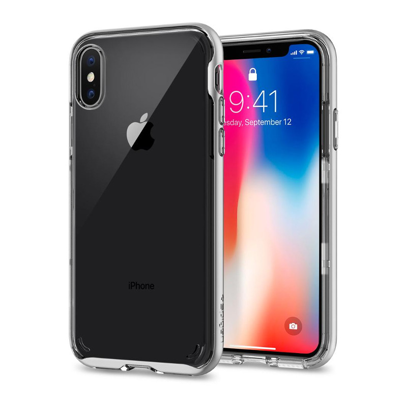 Original Spigen Case Apple iPhone X Neo Hybrid Crystal Undecided Retail