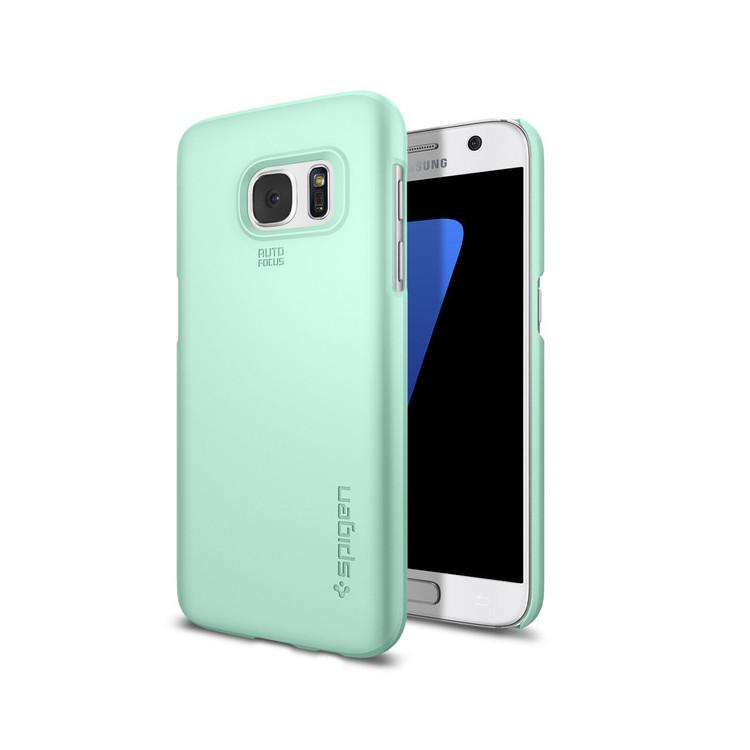 original-spigen-case-galaxy-s7-thin-fit-mint-retail