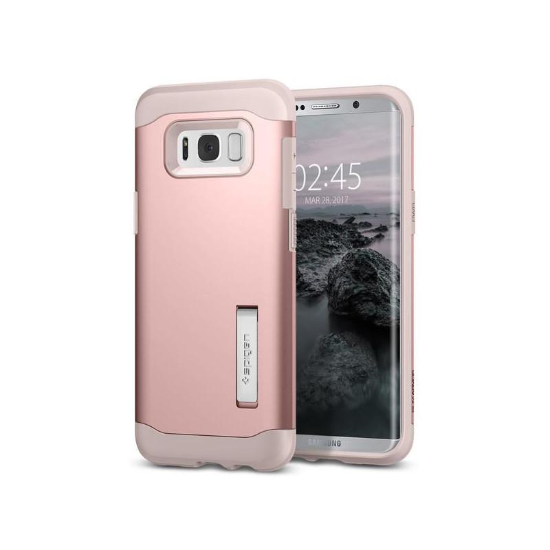 original-spigen-case-galaxy-s8-plus-slim-armor-rose-gold-retail