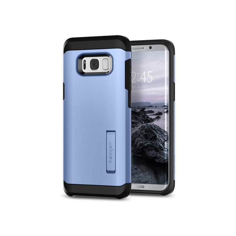 Original Spigen Case Galaxy S8 Plus Tough Armor Blue Coral Retail