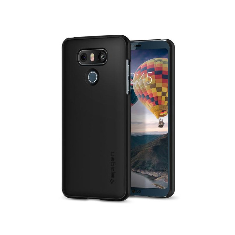 Original Spigen Case LG G6 Thin Fit Black Retail