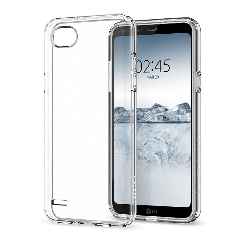 Original Spigen Case LG Q6 Liquid Crystal Retail
