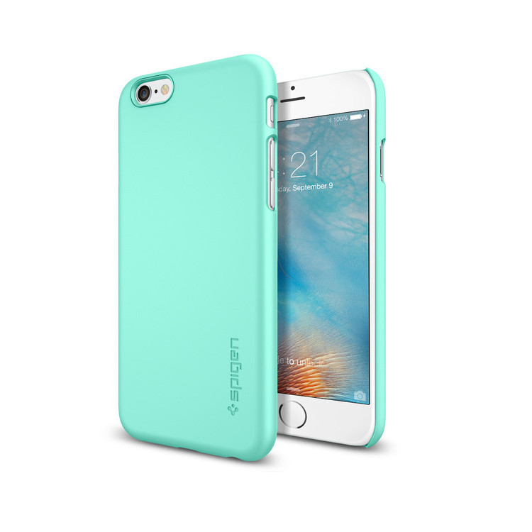 Original Spigen Case iPhone 6S Thin Fit  Mint Retail