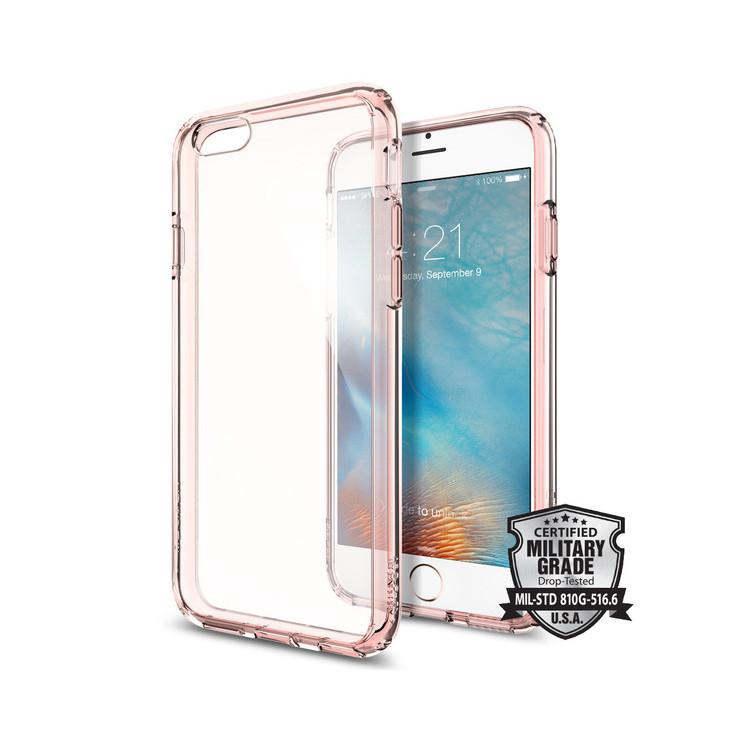 Original Spigen Case iPhone 6S Plus Ultra Hybrid Rose Crystal Retail