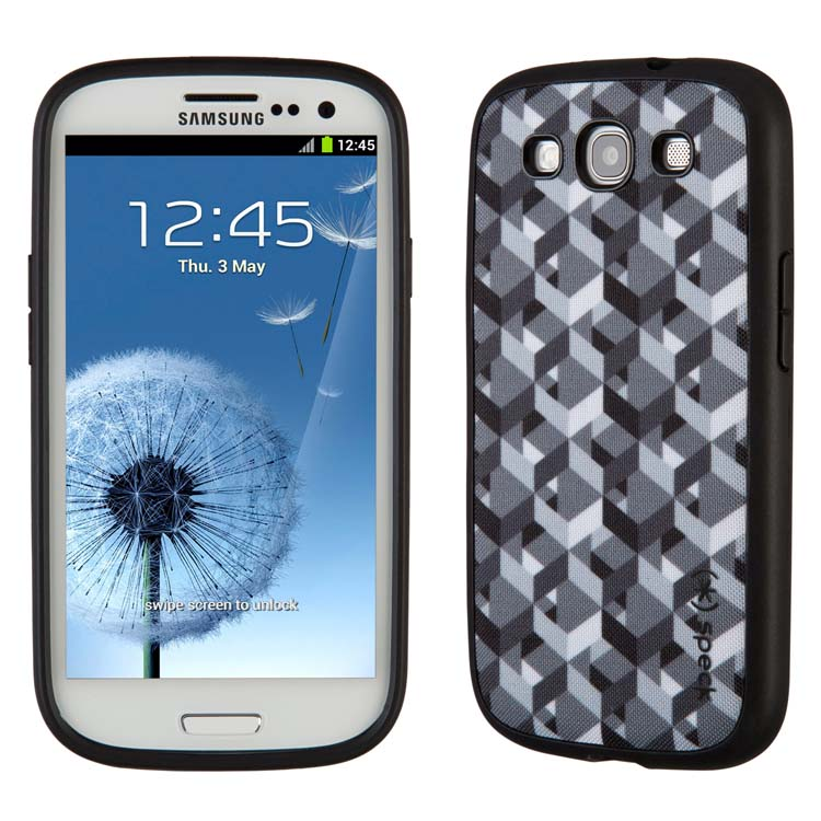 Original Speck Case Fab Shell Samsung Galaxy S3 ZikkyZak Grey Retail