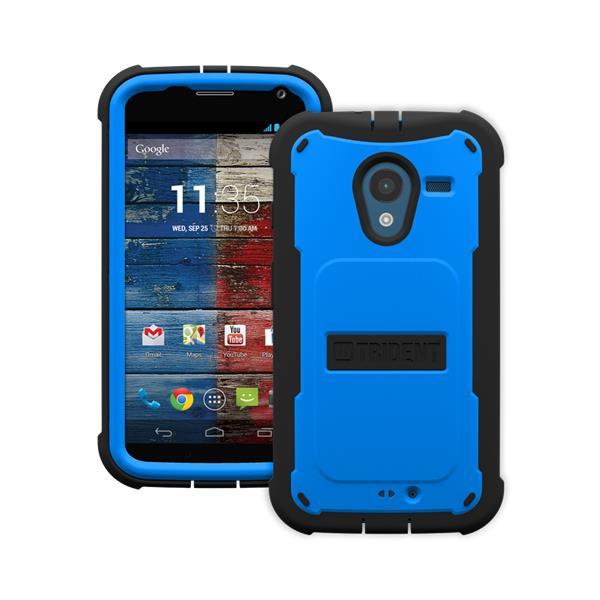 Original Trident Case Cyclops Motorola Moto X Blue Retail