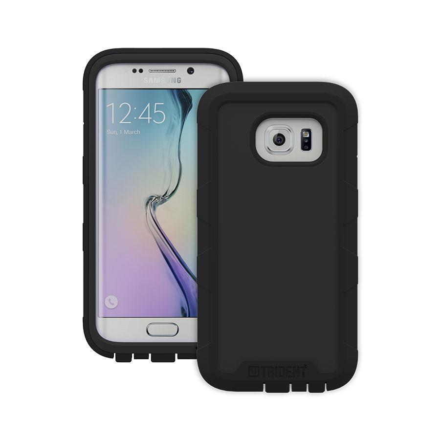Original Trident Case Cyclops  Samsung Galaxy S6 Edge Black Retail