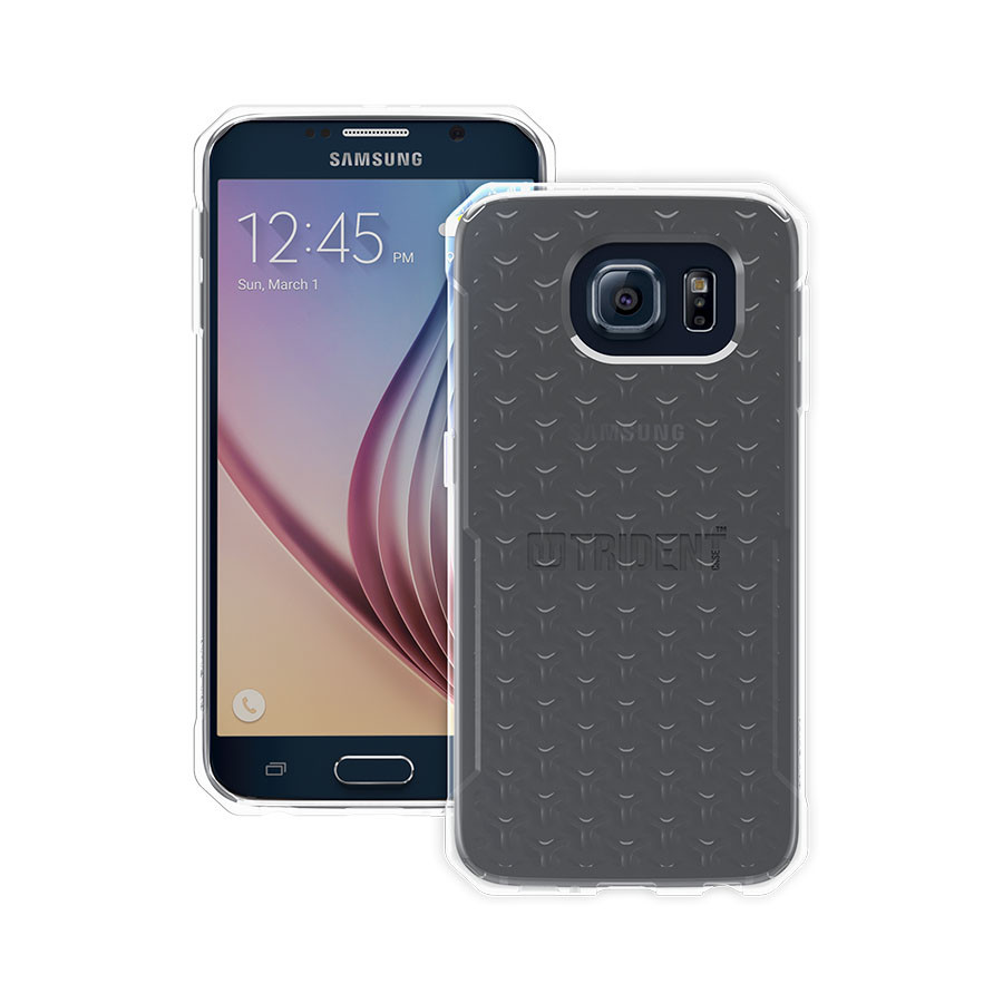 Original Trident KRIOS Gel for Samsung Galaxy S6 Clear Retail