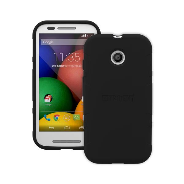 Original Trident Case Perseus Gel Series Moto E Black Retail