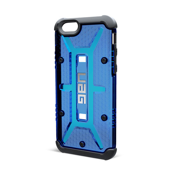 "Original UAG Case Maverick  iPhone 6 Plus 5.5"" Clear Blue Retail"