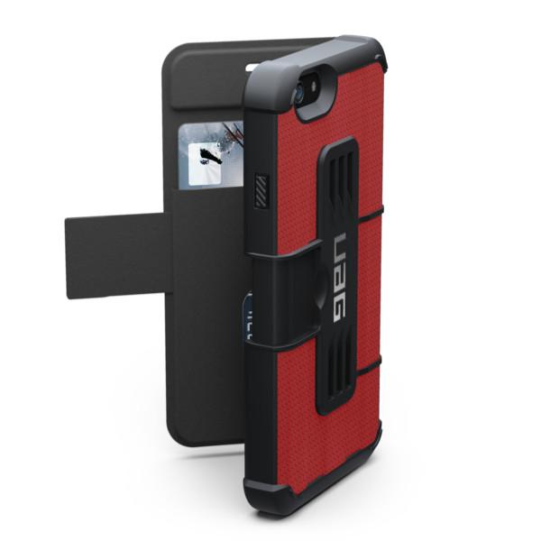 """Original UAG Case Rogue Folio  iPhone 6 4.7"""" Magma Red Retail"""