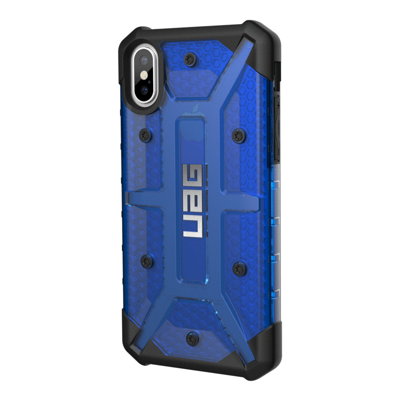 Original UAG Case Plasma iPhone X Cobalt (BlueTransparent) Retail