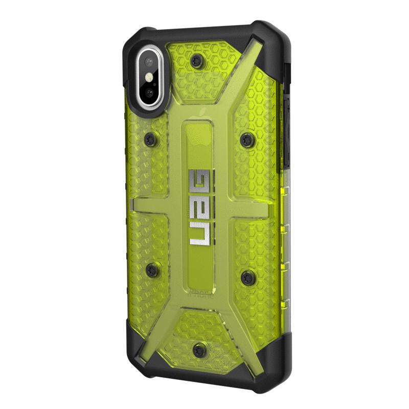 Original UAG Case Plasma iPhone X Citron (Yellow Transparent) Retail
