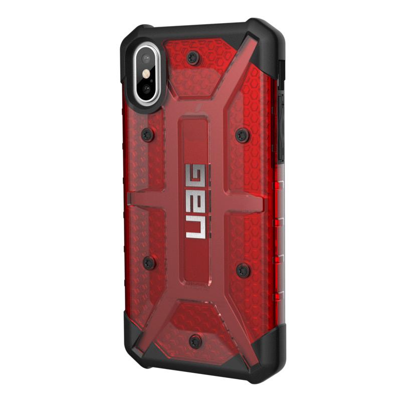 Original UAG Case Plasma iPhone X Magma (Red Transparent) Retail