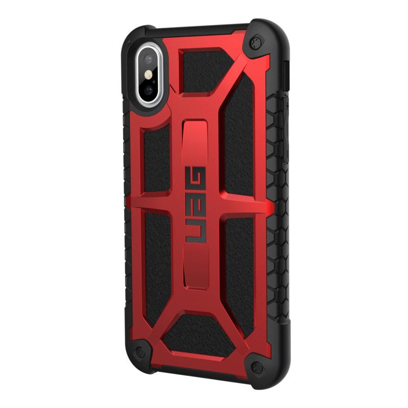 Original UAG Case Monarch iPhone X Crimson Retail