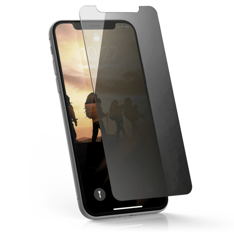 Original UAG Iphone X Privacy Glass Screen Protector Retail Package