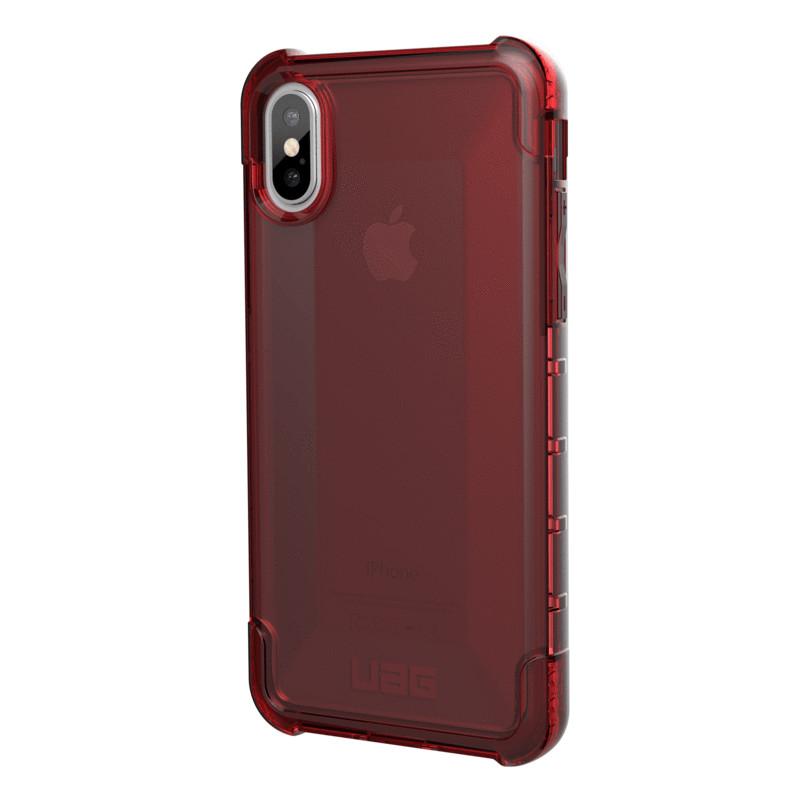 Original UAG Case Plyo iPhone X Crimson (Dark Red Transparent) Retail