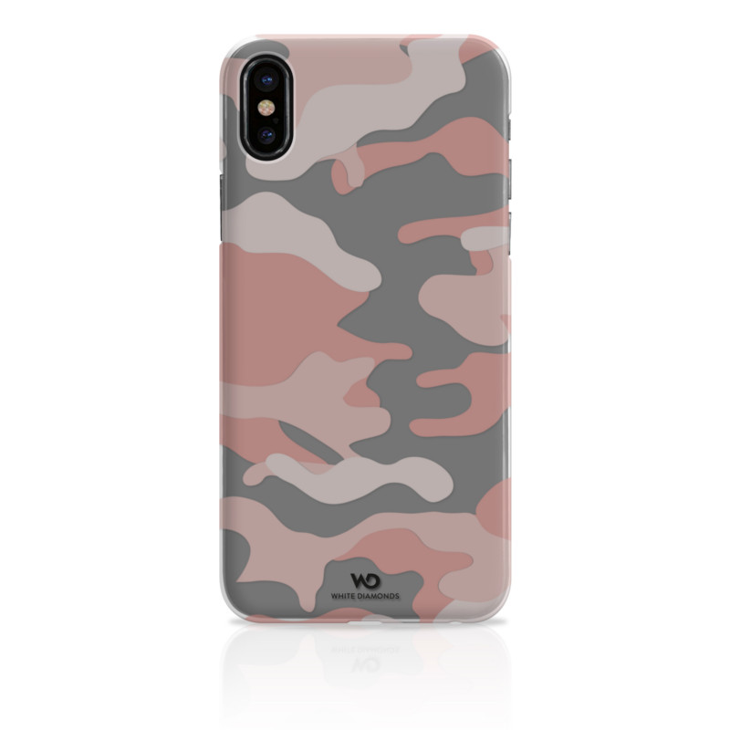 Original White Diamonds iPhone 8 Camouflage Case Rose Gold..