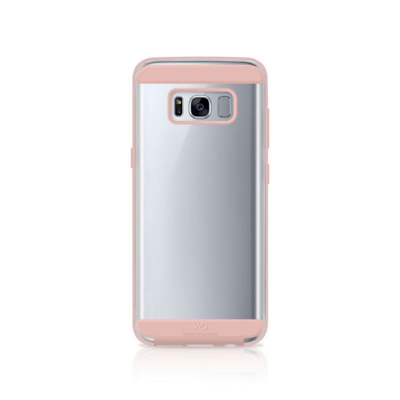 Original White Diamonds Samsung Galaxy S8 Innocence Clear Case / Rose Gold
