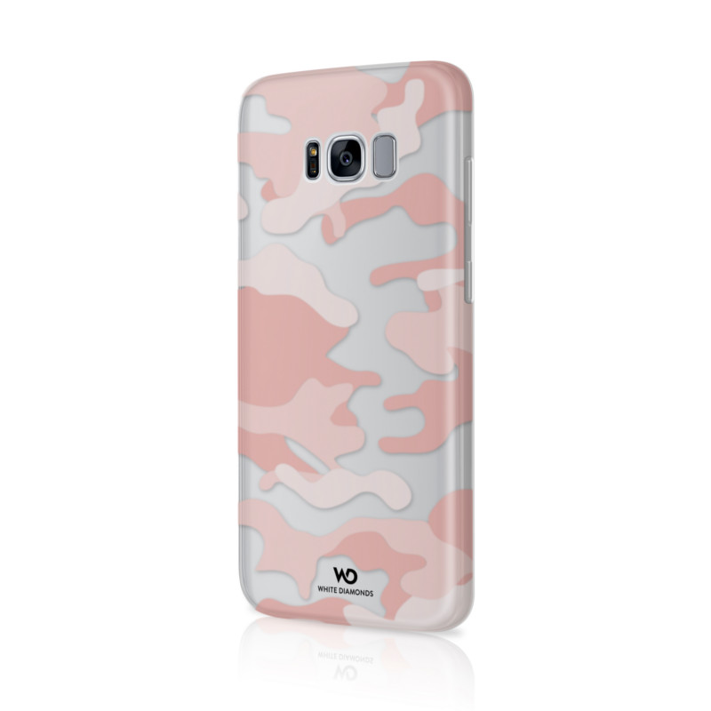 Original White Diamonds Camouflage Case Galaxy S8 Rose Gold